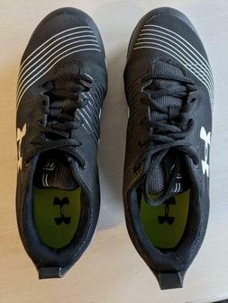 Worn once - Under Armour Women's Glyde Softball Cleats Size